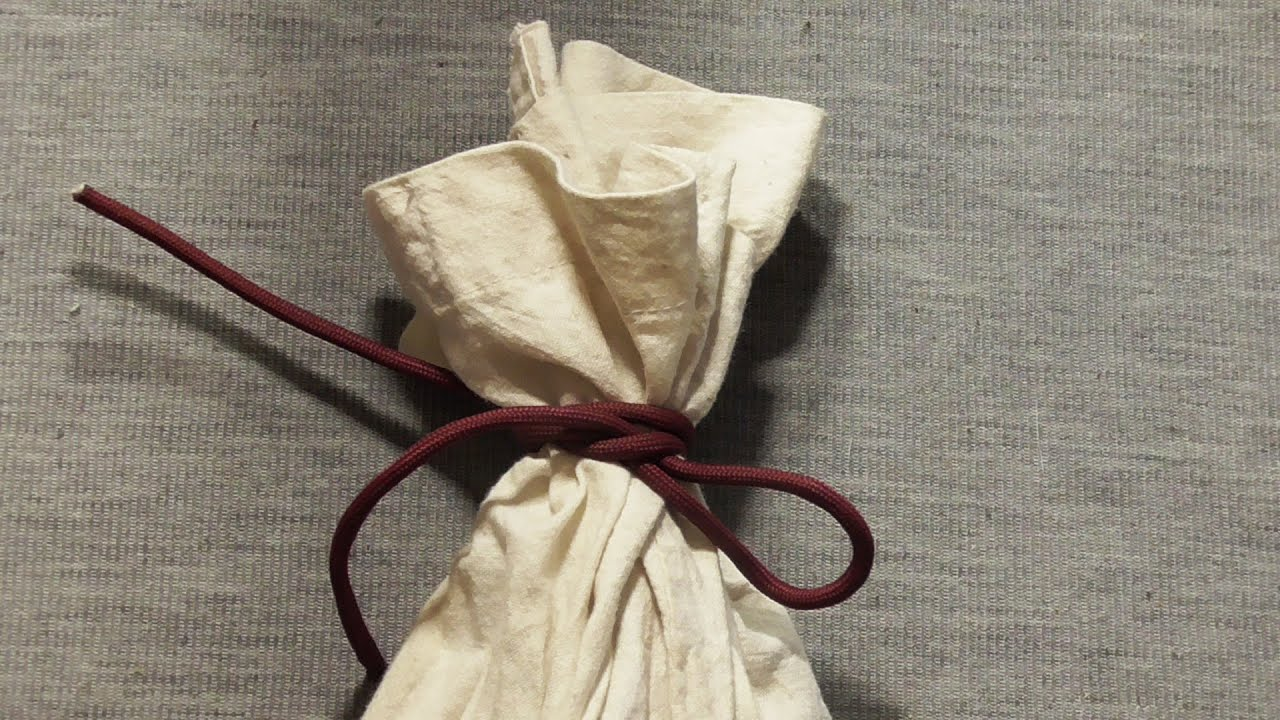 How to tie a bag 11