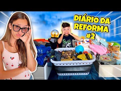 DIARIO DA REFORMA DO MEU QUARTO #2 - DIÁRIO DE FAMÍLIA