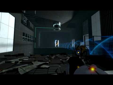 Portal 2 Playthrough - Part 17: Cubes With Legs!