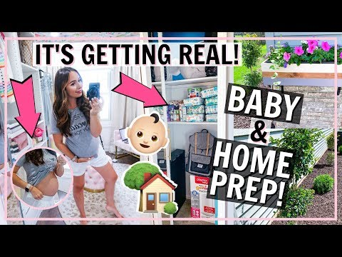 MOM IN THE MAKING! PREPARING FOR FIRST BABY & HOUSE UPDATES! | Alexandra Beuter