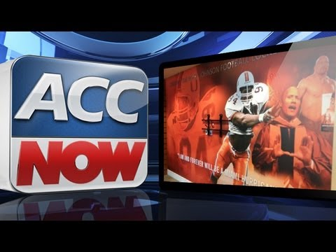 "ACC NOW | Miami Football Names Locker Room After ""The Rock"" 