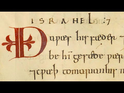The Christmas Story in Old English – Luke Ch. 2 in Anglo-Saxon