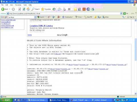 IP WHOIS