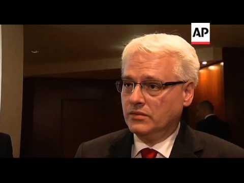 Mladic reax from leaders of Croatia, Slovenia