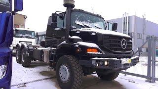 2016 Mercedes-Benz Zetros 2733 6х6. Обзор (интерьер, экстерьер, двигатель).