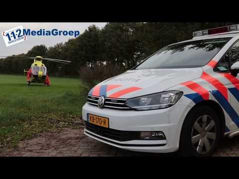 12 oktober 2017 Inzet traumahelikopter in Veenendaal