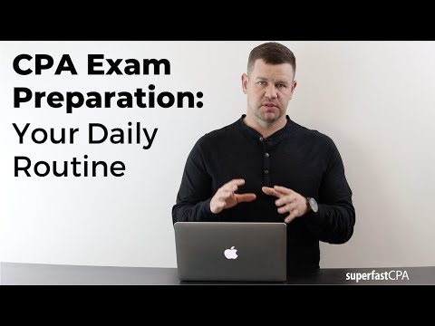 CPA Exam Preparation: Your Daily Routine