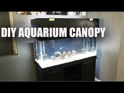 DIY FISH TANK CANOPY 2019