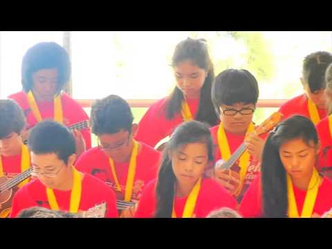 """ukulele-festival-hawaii-2014----""""go-lia-go"""""""