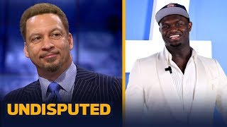 Chris Broussard thinks 'there's no doubt' LeBron will give Zion guidance | NBA | UNDISPUTED
