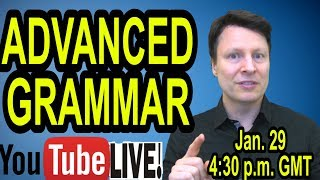 Do you make this grammar mistake?  | Learn English with Steve Ford