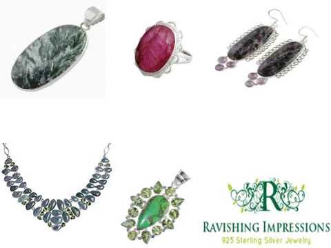 Buy Handmade 925 Sterling Silver Jewelry, Natural GemStone Manufacturers, Exporters From India