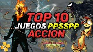 TOP 10 MEJORES JUEGOS PPSSPP DE ACCION [+LINKS DE DESCARGA POR MEGA]