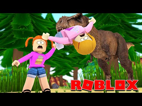 Roblox | Don't Get Eaten By A Dinosaur! | Time Travel Story