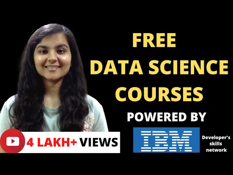 FREE Data Science Online Courses with FREE certificate