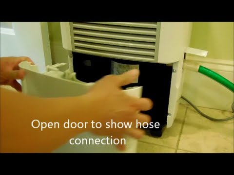 Dehumidifier drainage and filter, basement, handyman, home repair, remodeling