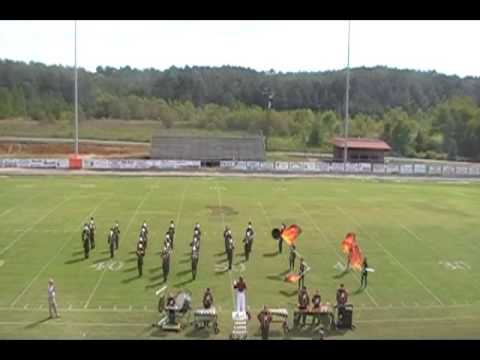 The Merryville High School Panther Pride Band