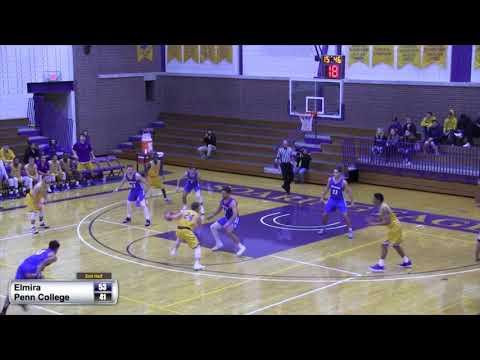 Elmira College Men's Basketball vs. Penn College Highlights