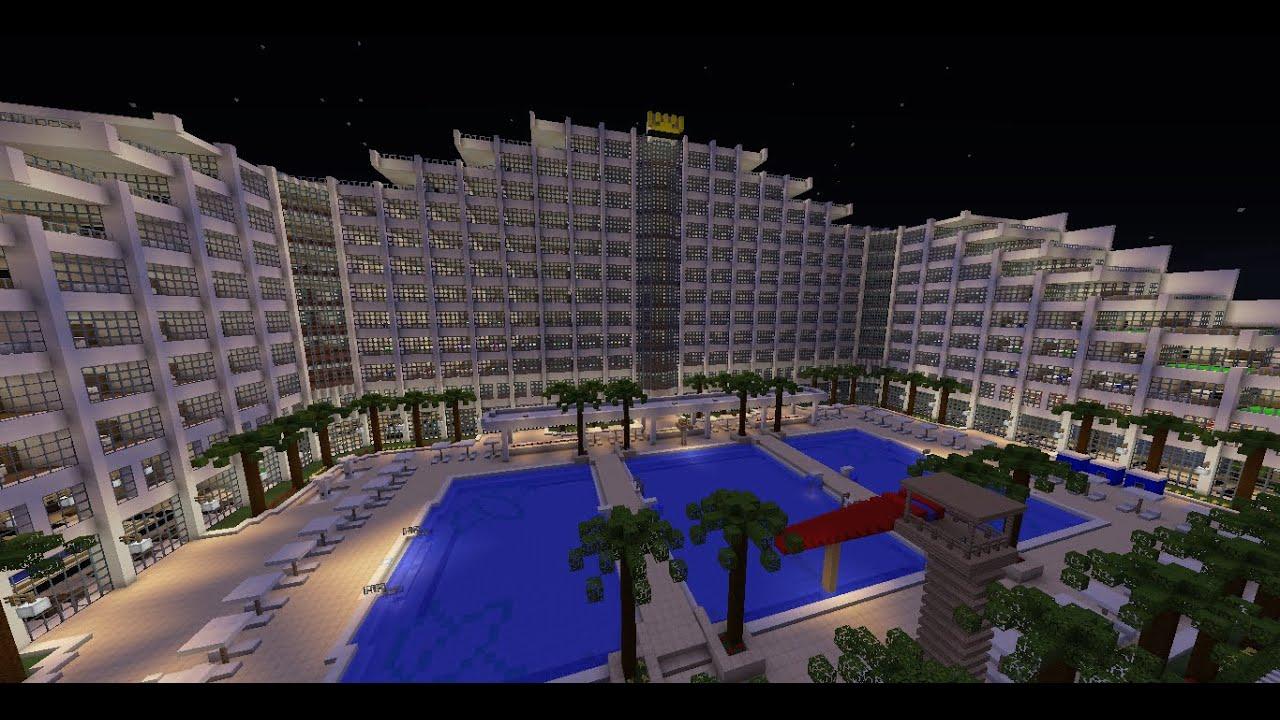 Megaconstrucciones epicas en minecraft cap 1 hotel de for Arquitectura de hoteles