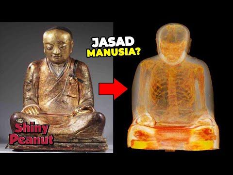 Sesuatu Mengejutkan Telah Ditemukan di Dalam Patung Budha Ini