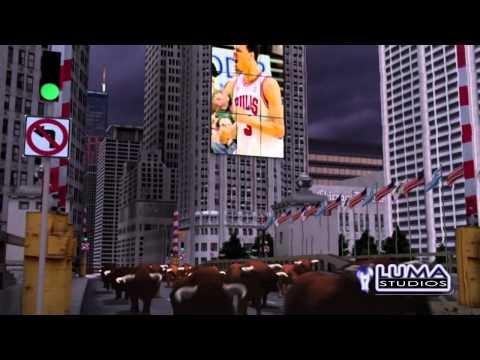 Chicago Bulls 2001-2002 Intro