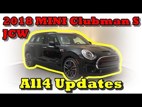 Update Watch Now 2018 Mini Clubman S Jcw John Cooper Works All4
