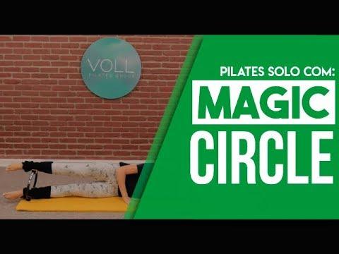 Aula de Pilates Solo com Acessório - Magic Circle