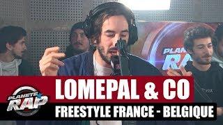 Lomepal - Freestyle France Belgique avec Roméo Elvis, Caballero & JeanJass, Slimka, Isha & Moka Boka