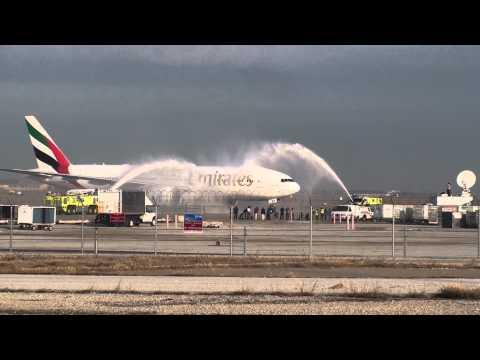 Emirates 777-200LR First Flight to DFW! (Dallas,FortWorth)