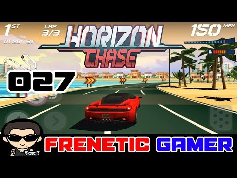 HORIZON CHASE: Gameplay United Arab Emirates Palm Island - All Coins 100%