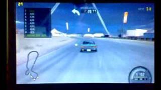 ASUS Eee PC 1201N Need For Speed ProStreet Gameplay