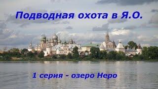 Подводная охота в Ярославской области. 1 серия.  Озеро Неро.