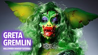 Greta Gremlin Halloween Makeup…