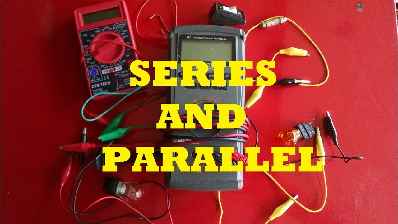 Differences Between A Parallel And Series Circuit Youtube The Amperage In Is