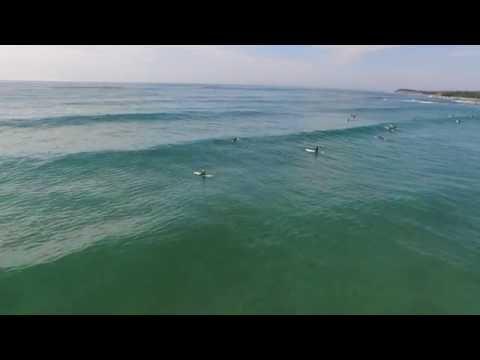 Surf Association Nova Scotia (SANS) summer longboard contest at