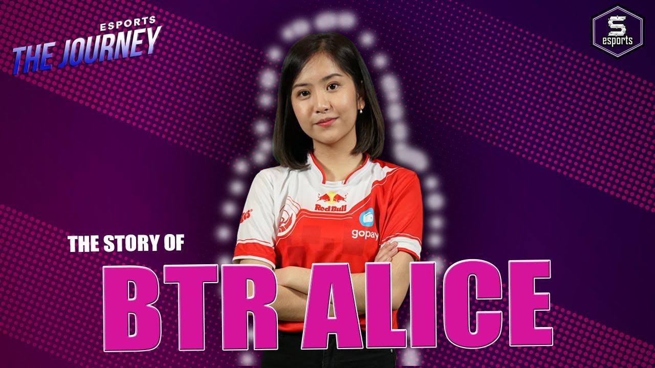 Kisah BTR Alice -  Lucu Tapi Mematikan di PUBG Mobile - The Journey | SPIN Esports