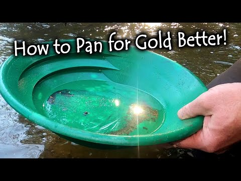 10 Tip And Tricks To Become A Better Gold Panner!!