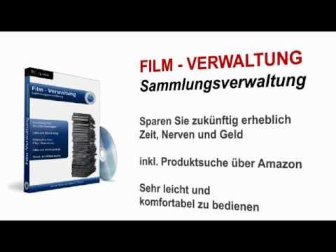 Film Verwaltung Sammlung Programm. Software für Windows. DVD, Blu-ray, Movies, Collector