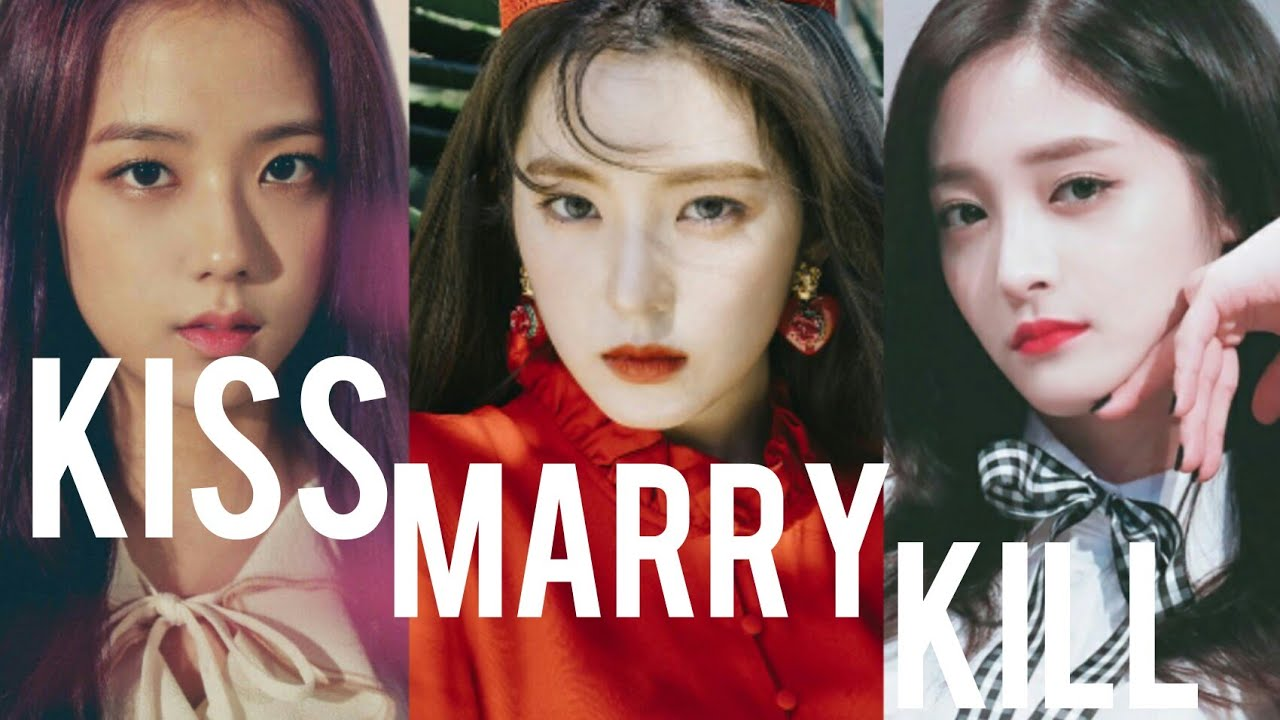 Kiss Marry Kill Kpop Female Idols Edition Youtube