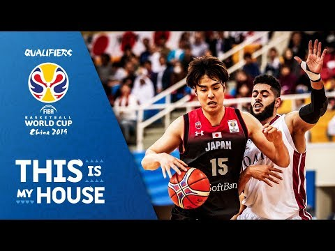 Qatar v Japan - Full Game - FIBA Basketball World Cup 2019 - Asian Qualifiers