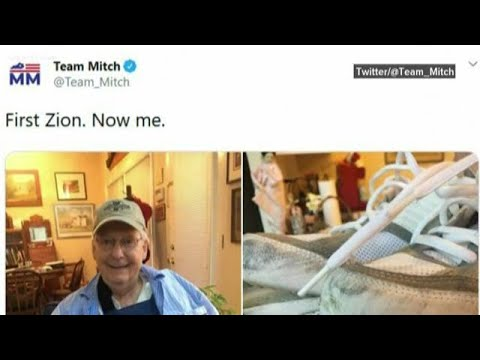 Team Mitch Shares New Photos Of Mcconnell After Injury Youtube