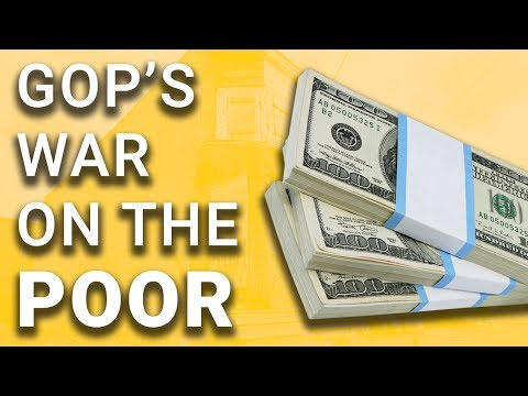 Republicans Will Crush Poor to Pay for Rich's Tax Cuts