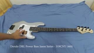 Derulo DRL Power Bass | Распаковка и обзор дешевой Бас-гитары