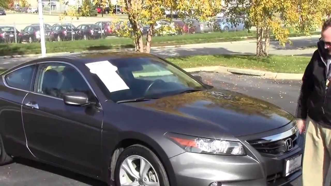 Used 2011 honda accord ex l v6 coupe for sale at honda for Honda accord 2011 for sale