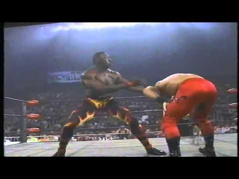 Booker T vs Chris Benoit WCW Monday Nitro Highlights
