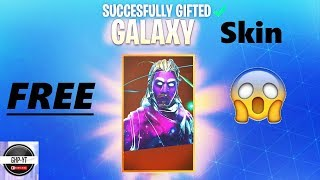 GALAXY SKIN REALLY GET FREE | Galaxy Skin Fortnite Free | Galaxy Skin Fortnite Free