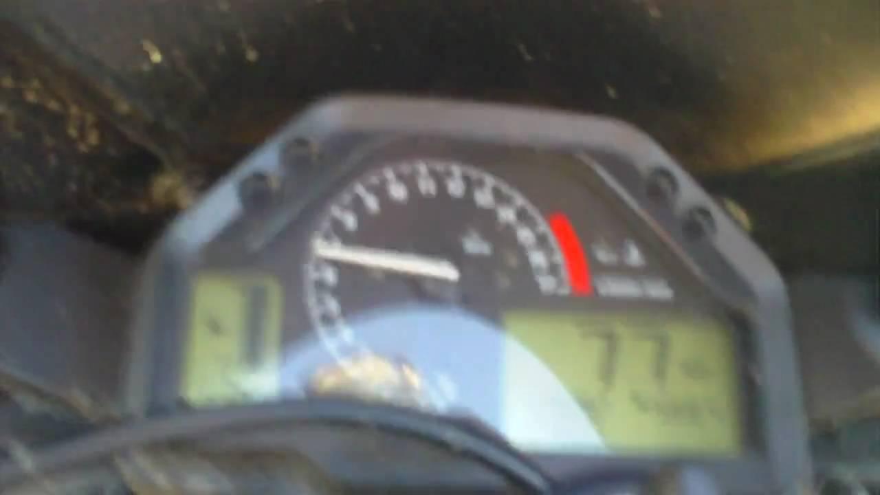2005 Honda Cbr600rr Top Speed 162mph