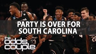 Final Four Free Pick | The Odds Couple & Joe Gavazzi | South Carolina vs Gonzaga
