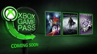 Xbox Game Pass | January 2019 New Games