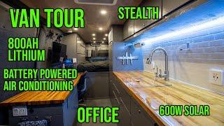 Stealth Camper Van Tour